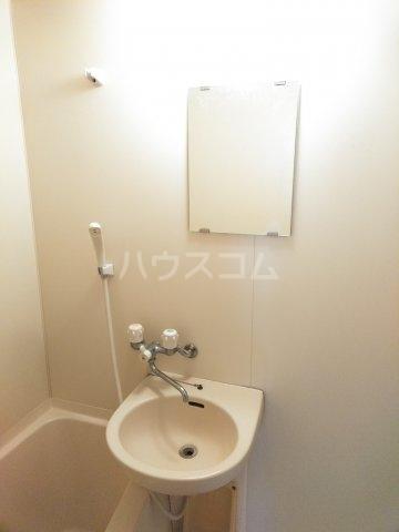 ホワイトプラム2 101号室の洗面所