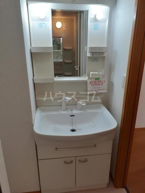 おひさま館B 02030号室の洗面所