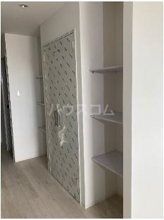 Casa TsuhaⅡ 2-A号室の収納