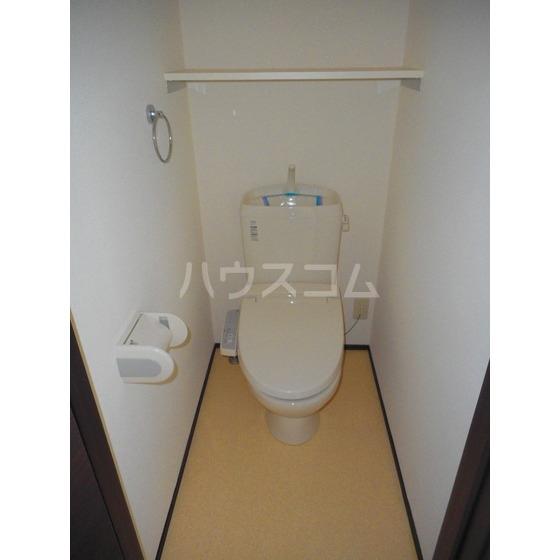Cloverのトイレ