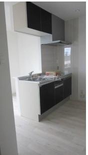 Casa TsuhaⅡ 3-B号室のキッチン