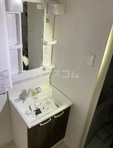 Casa TsuhaⅡ 3-B号室の洗面所