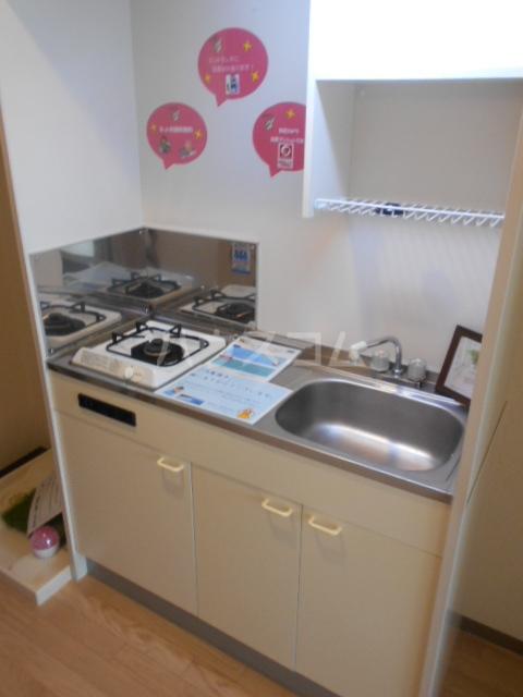 エクシード西院Ⅱ 0203号室のキッチン