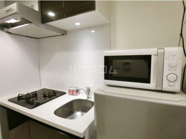 ガリシア用賀 203号室のキッチン