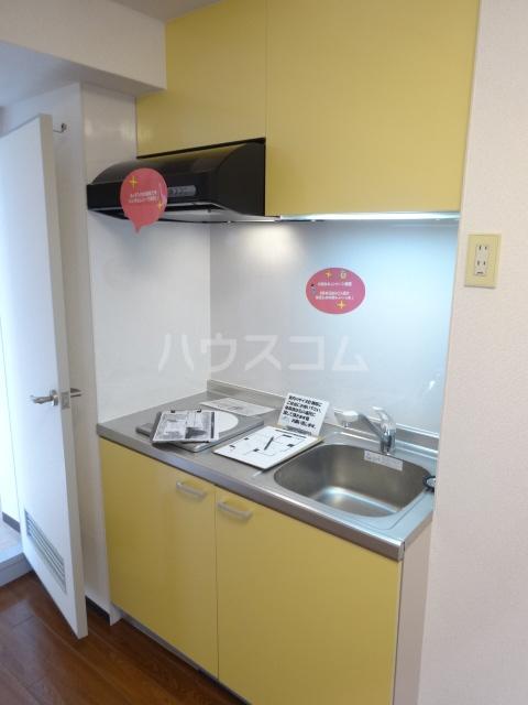 エスポワール西京極 503号室のキッチン