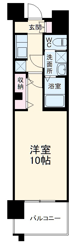 S-RESIDENCE本郷Ⅱ 209号室の間取り