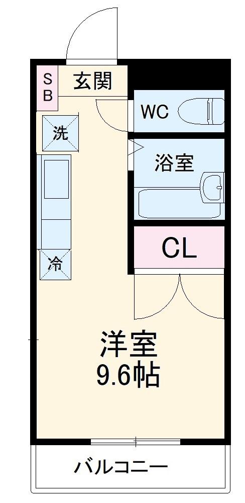 REALJOY薬円台五番館・202号室の間取り
