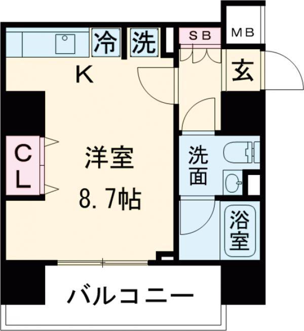 AXAS中野レジデンス 303号室の間取り