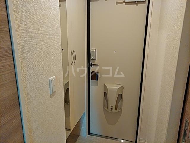 セジュール嵯峨鳥居本 101号室の玄関