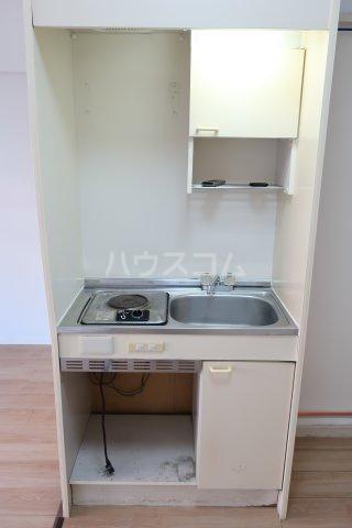 グリーンノア 4B号室のキッチン