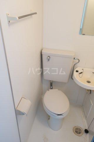 グリーンノア 4B号室のトイレ