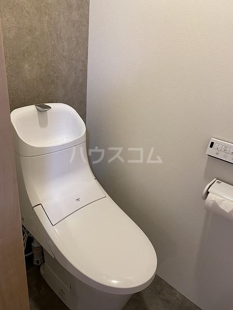 練馬マンション A号室のトイレ