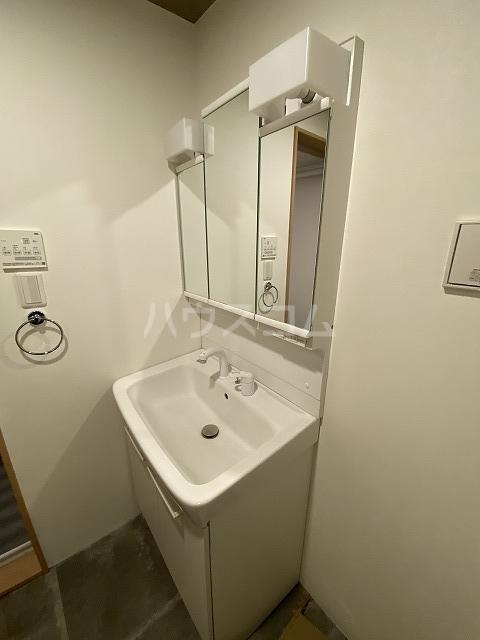 練馬マンション A号室の洗面所