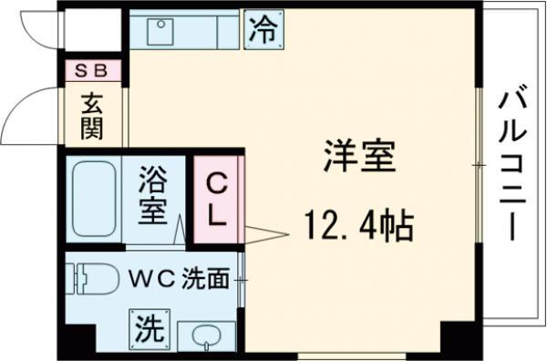 松陰神社駅前レジデンス・301号室の間取り