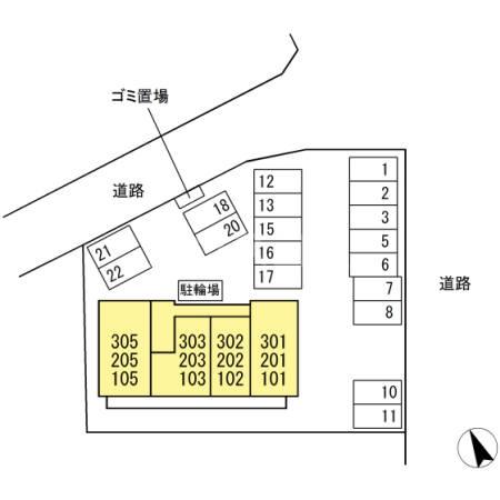 (仮称)D-Room有玉南町 A棟 303号室のその他