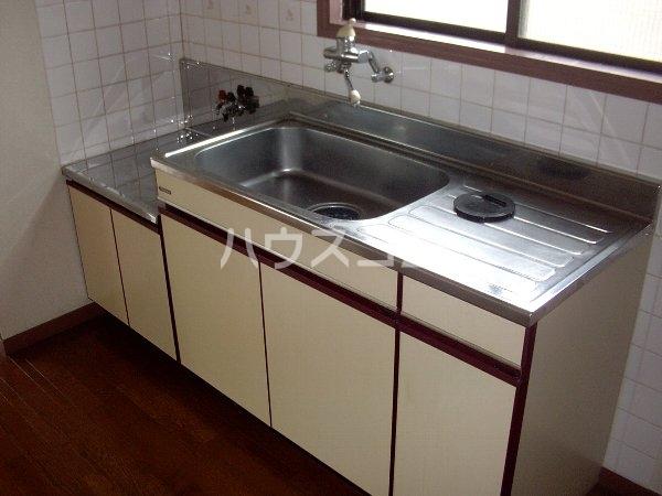 ロジュマンホリエ 202号室のキッチン
