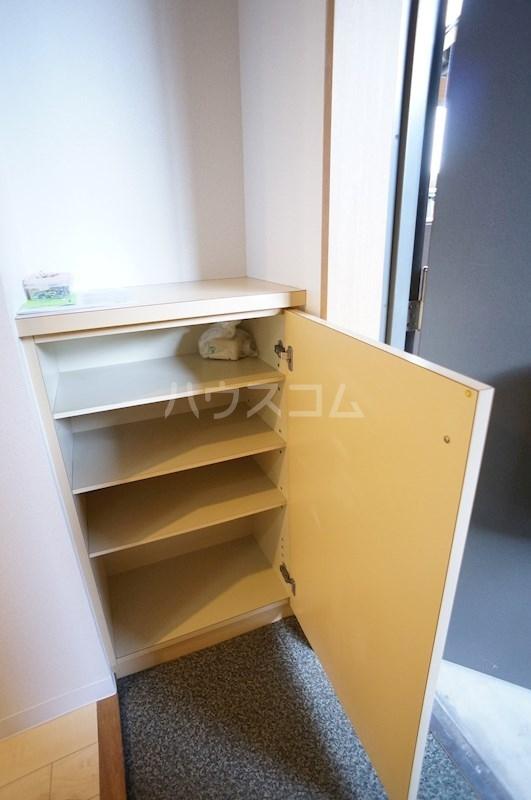 スペースG住吉 211号室の収納