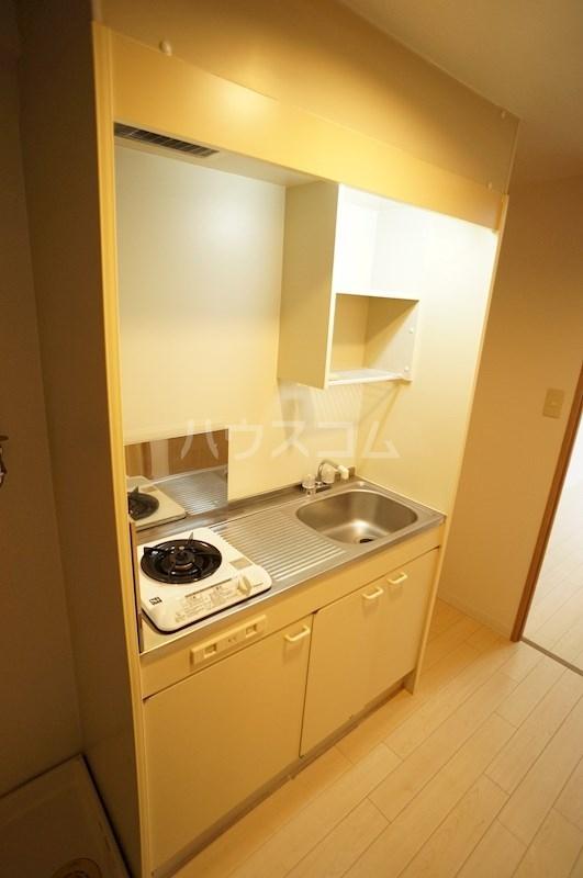 スペースG住吉 211号室のキッチン