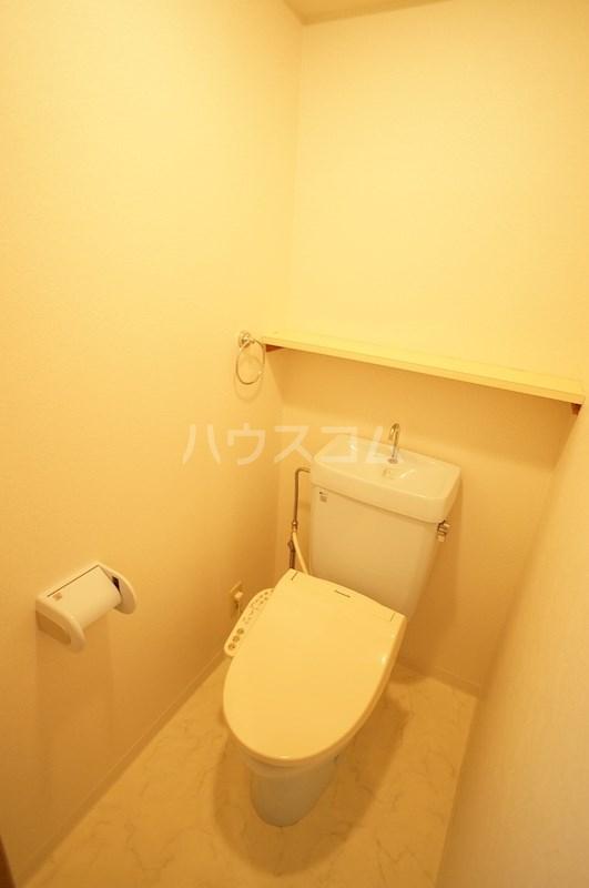 スペースG住吉 211号室のトイレ