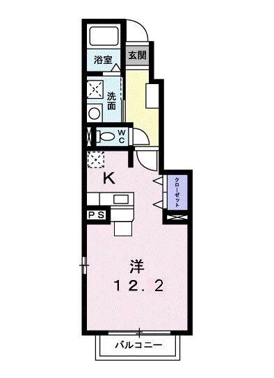 コーズィーコートR・SⅠ・01050号室の間取り