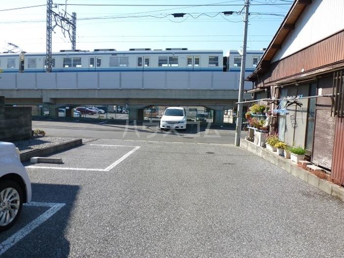 セジュール田中 102号室の駐車場