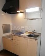 ヴェルデ・ナチュール B 202号室のキッチン