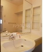 ヴェルデ・ナチュール B 202号室の洗面所