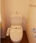 ヴェルデ・ナチュール B 202号室のトイレ