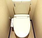 クレイノイセラー 101号室のトイレ