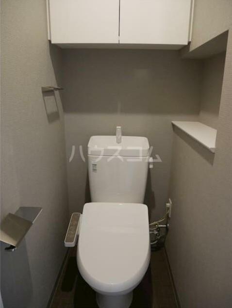 ステージファースト経堂アジールコート 304号室のトイレ