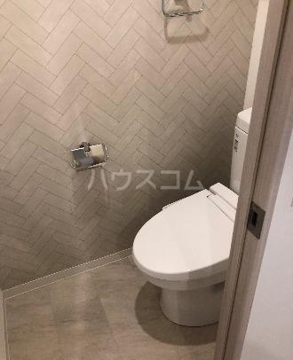 LANDIC K320 906号室の洗面所