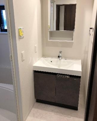 LANDIC K320 601号室の洗面所