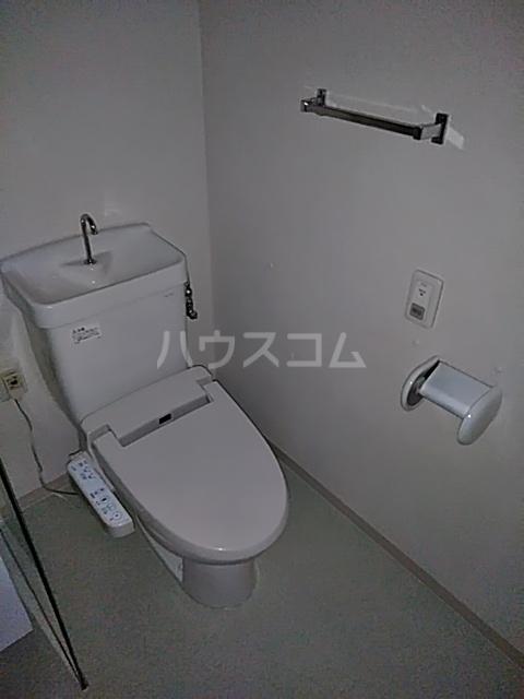 シティコート目黒 1号棟 309号室のトイレ