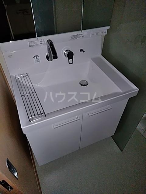 シティコート目黒 1号棟 309号室の洗面所