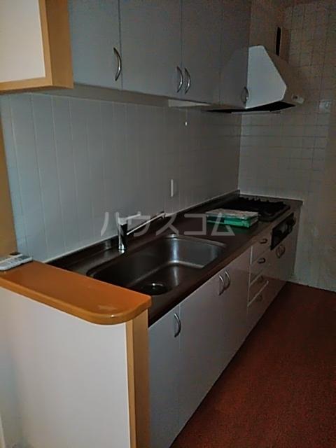 シティコート目黒 2号棟 201号室のキッチン