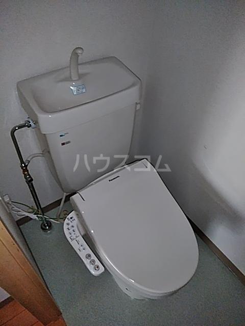 シティコート目黒 2号棟 201号室のトイレ