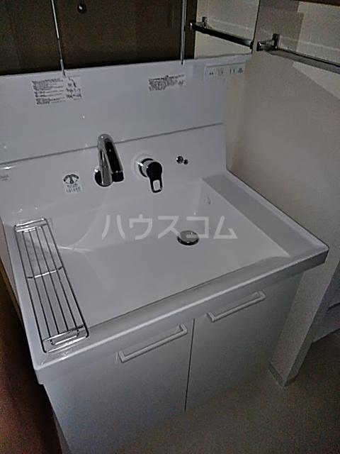 シティコート目黒 2号棟 201号室の洗面所