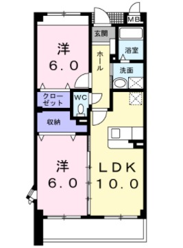 ドリ-ム KⅠ・01050号室の間取り
