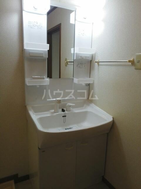 プレリーヴA 02010号室の洗面所