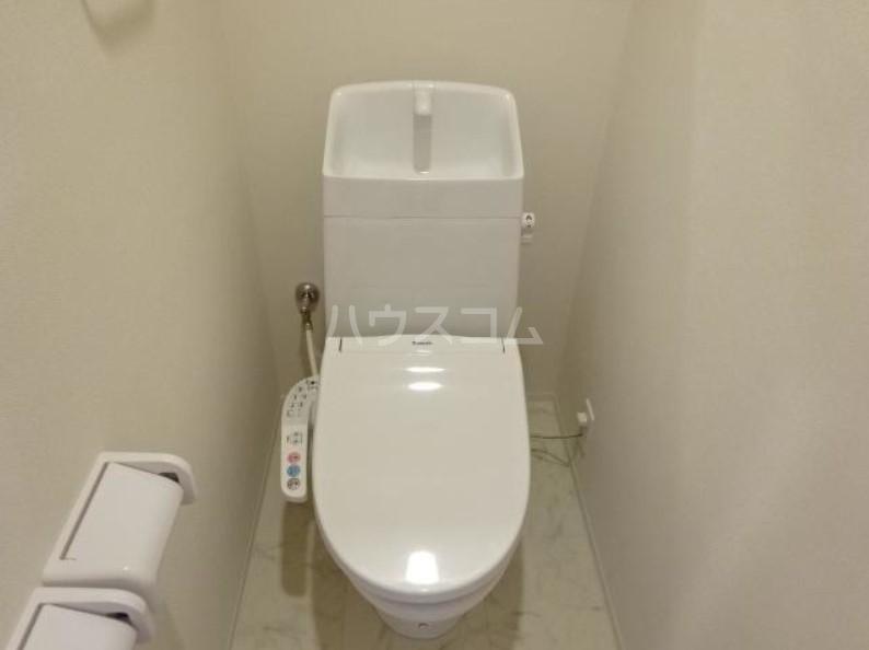 ラパンブルー 101号室のトイレ