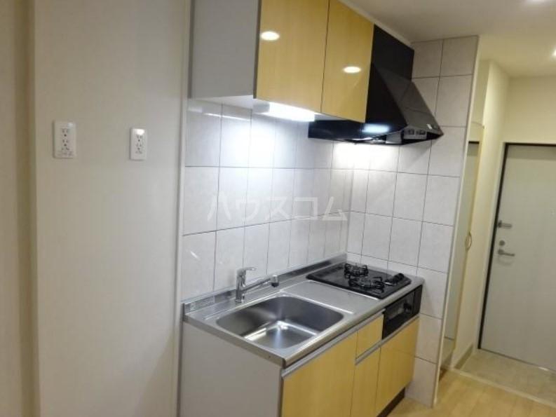 ラパンブルー 103号室のキッチン