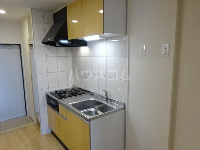 ラパンブルー 106号室のキッチン