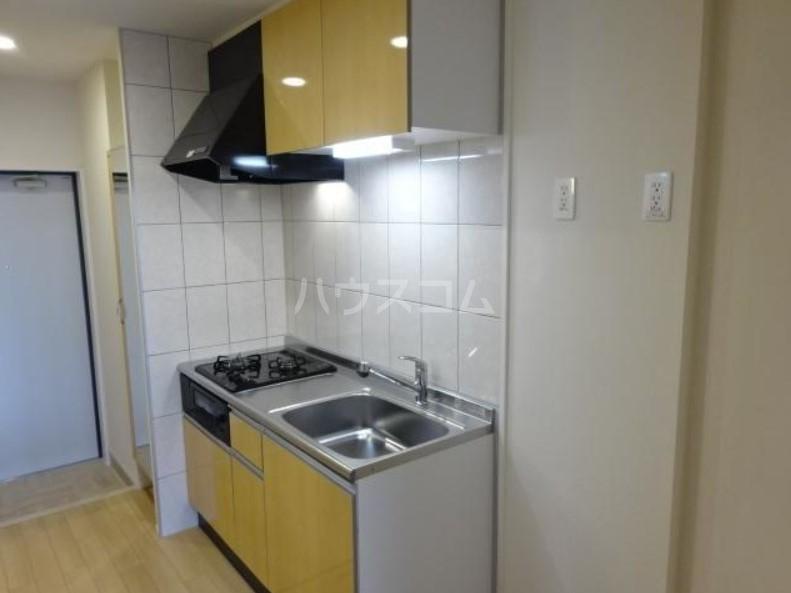 ラパンブルー 107号室のキッチン