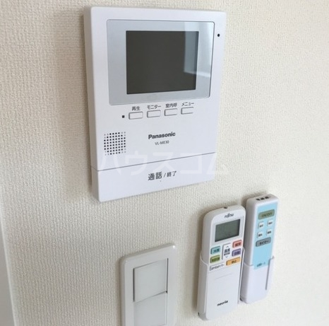 ラパンブルー 202号室のセキュリティ