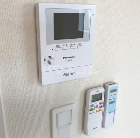ラパンブルー 205号室のセキュリティ