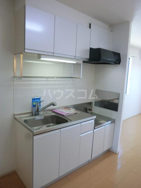 グランツみしまⅡ 03010号室のキッチン