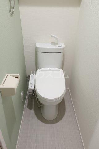 ハーモニーテラス大瀬子町 102号室のトイレ