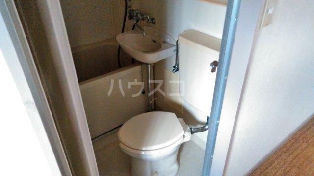 エクセレントハイツ 201号室のトイレ