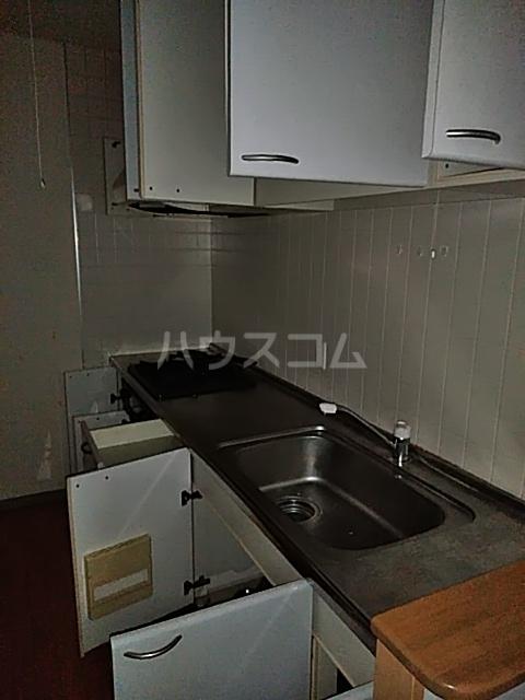シティコート目黒 4号棟 217号室のキッチン