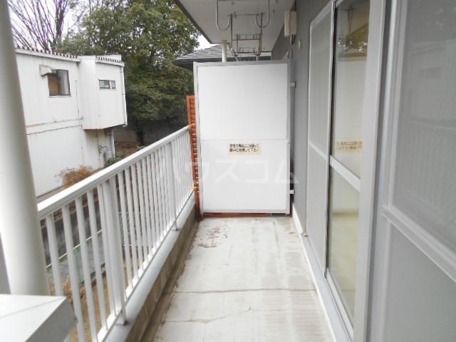 清水ハイツA 206号室のバルコニー
